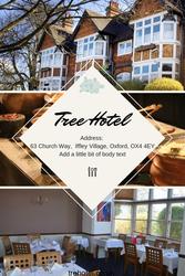 Best hotel oxford -- Tree Hotel Iffley