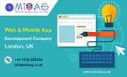 Top Website & Mobile App Development Company London,  UK | Mtoag